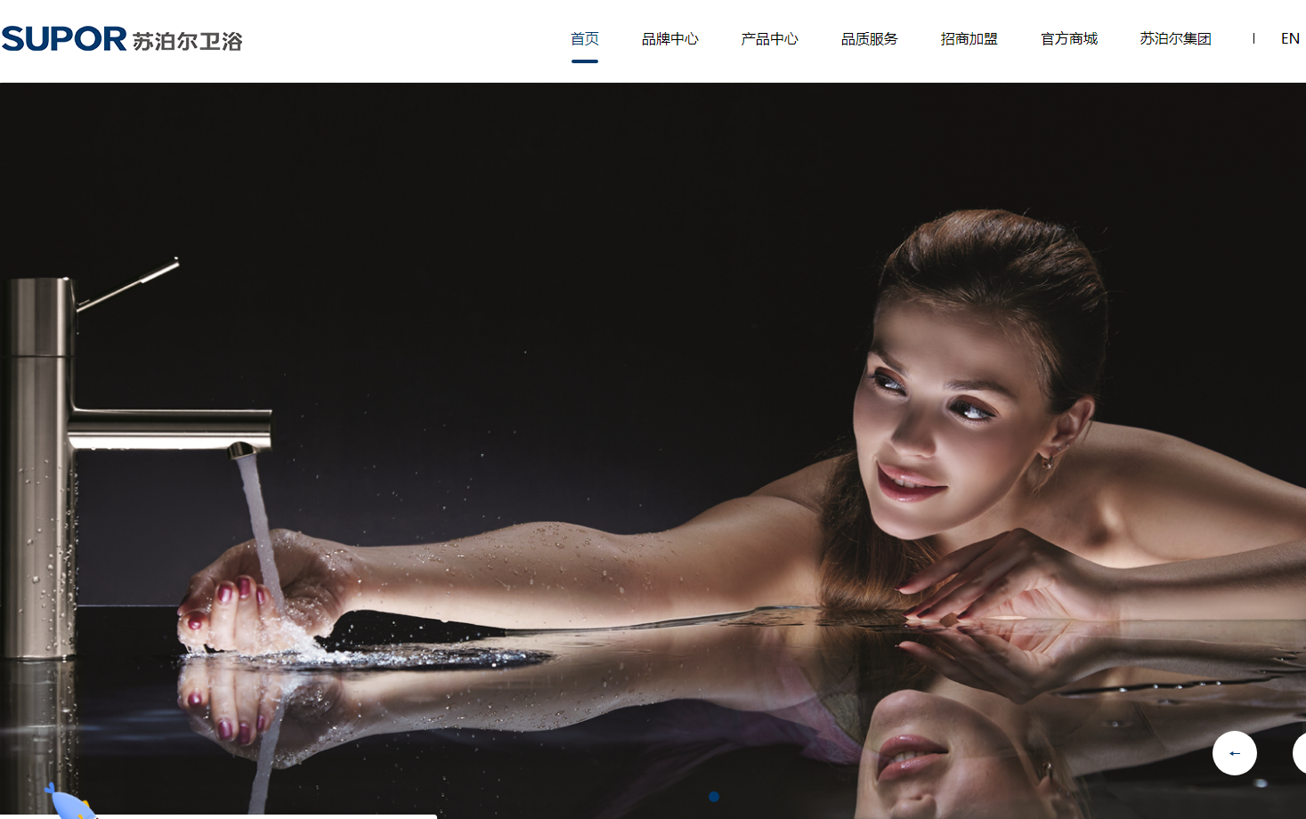 卫浴PC+手机网站